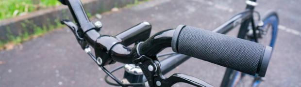 ピストバイク(自転車)のハンドルグリップを交換する方法!!