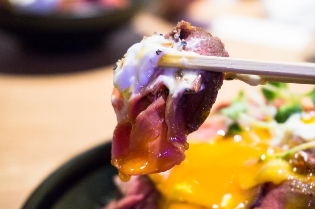ローストビーフ丼銀座13