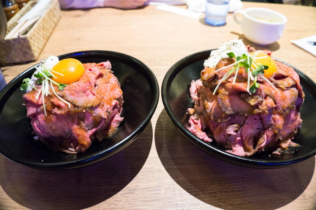 ローストビーフ丼銀座7