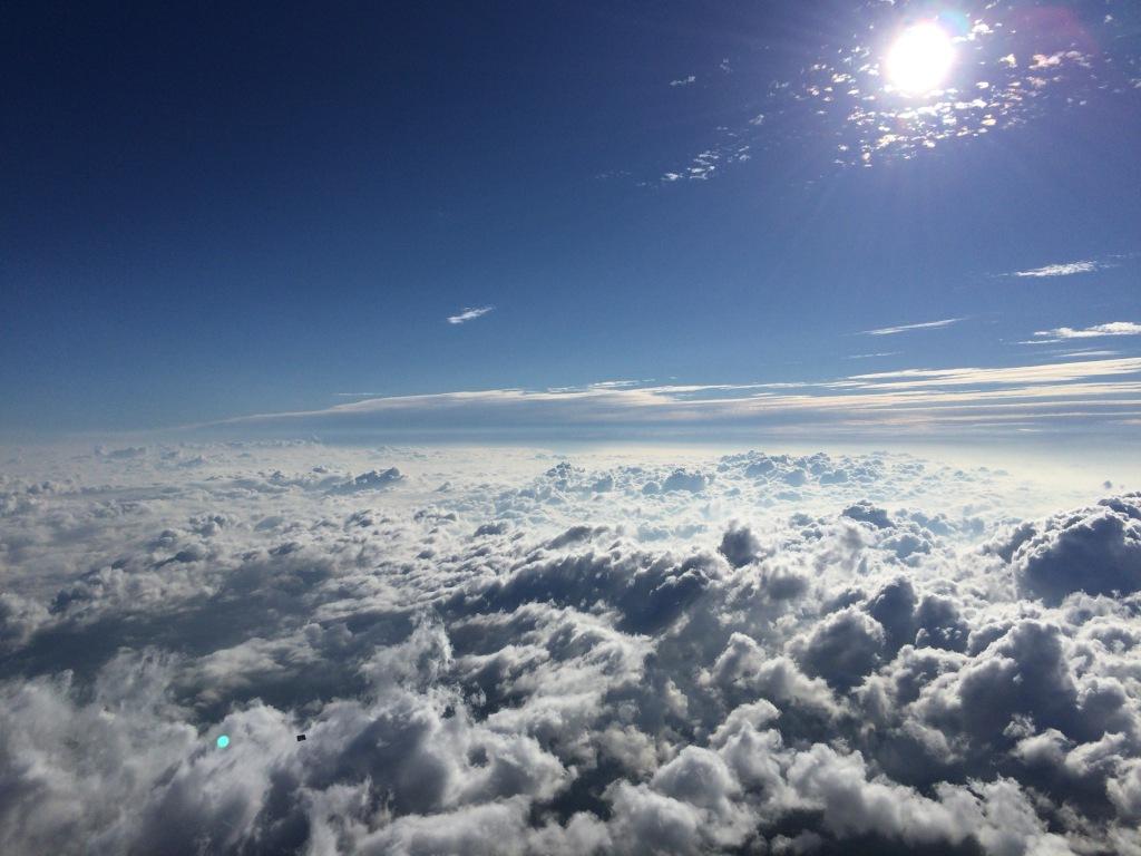 富士山頂 ご来光6