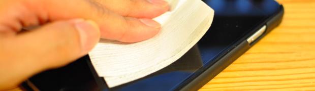 ファミマで買える無印良品のメガネ拭き(84円)がスマホの液晶にも使えて便利すぎる!