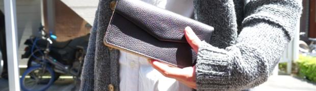 手紙の形をモチーフにした長財布。ohta定番の「letter wallet(手紙財布)」を買いました!
