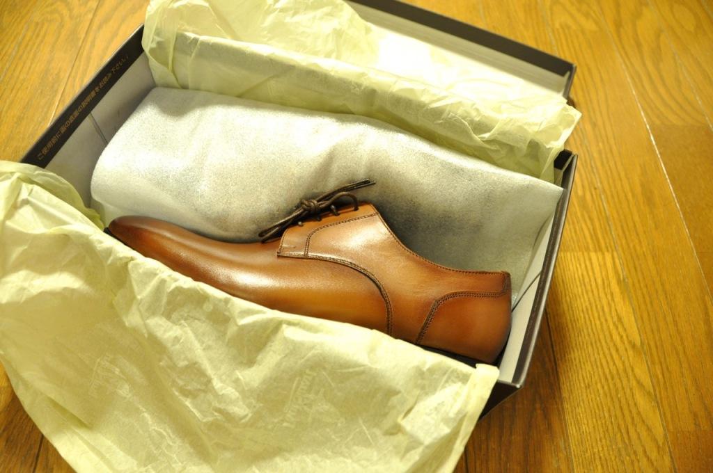 革靴 手入れ12