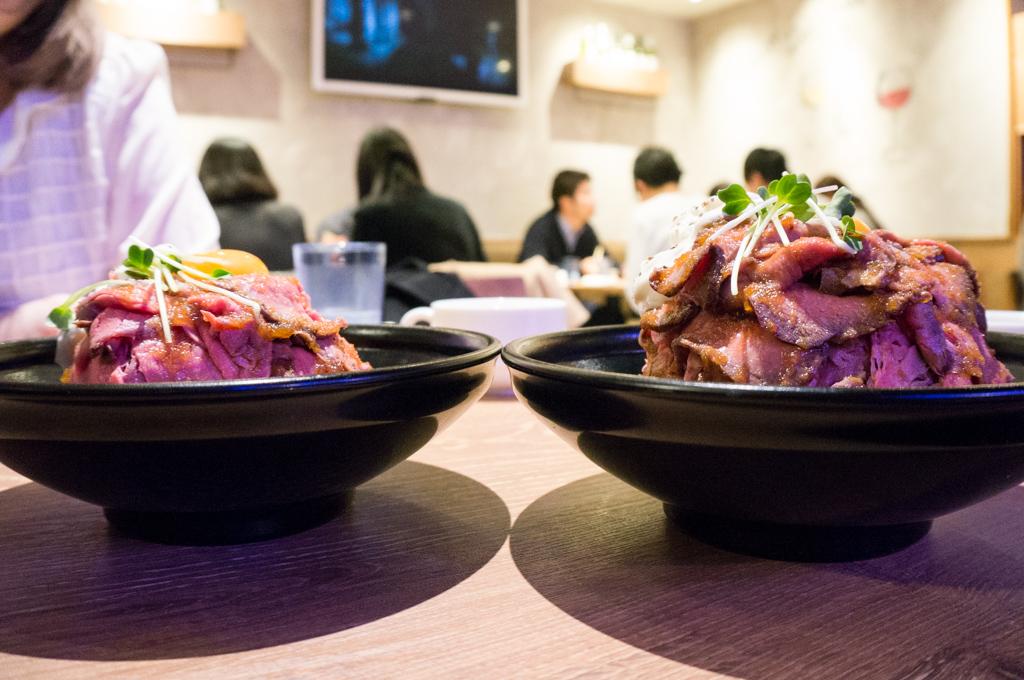 ローストビーフ丼銀座8