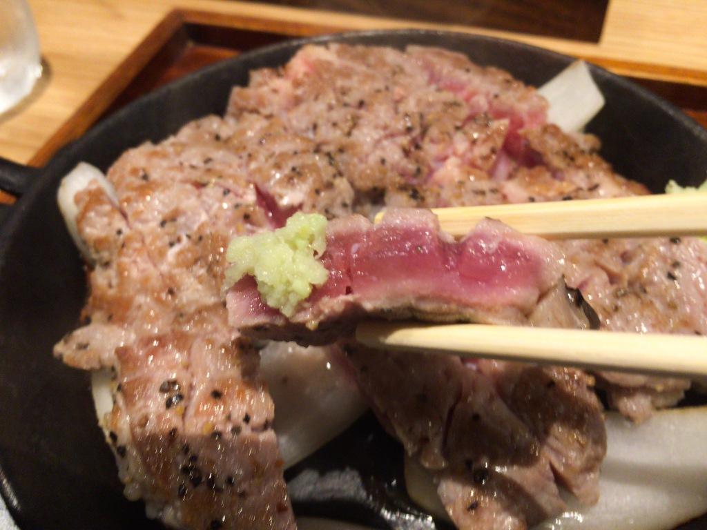 豚ステーキ11