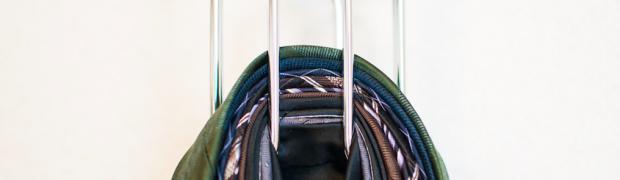 超コンパクトに大量のネクタイを収納出来るハンガー「タイハンガーデュオ」の収納力が凄い!