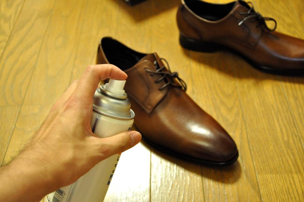 革靴 手入れ1