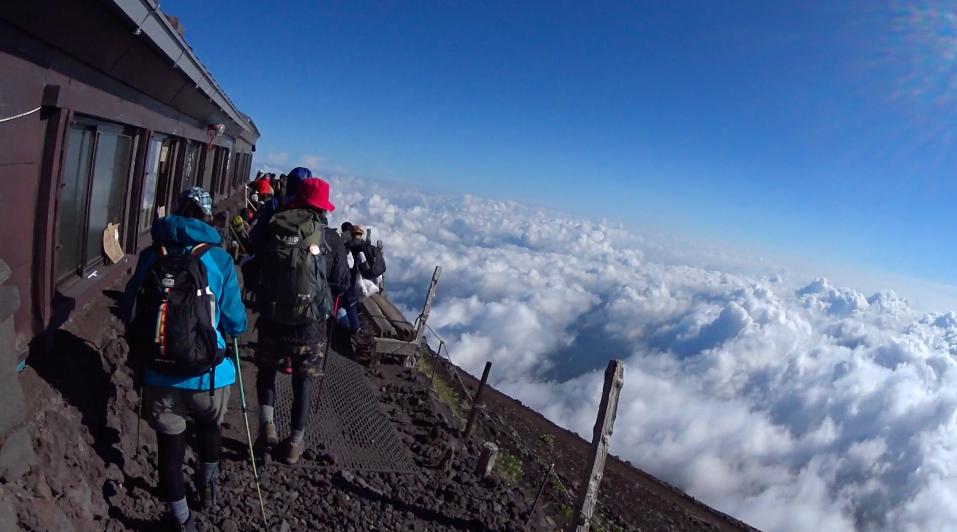 富士登山 ご来光7