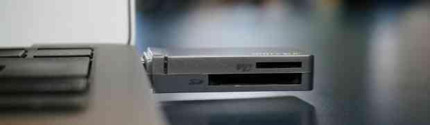 MacBook Air 11インチにはSDカードリーダーがない!?だったら超高速転送のカードリーダーがオススメ!!