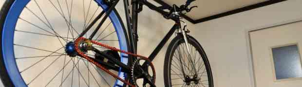 室内の自転車保管にはバイクタワーが絶対におすすめ!ピストバイクもロードバイクももはやインテリア!!
