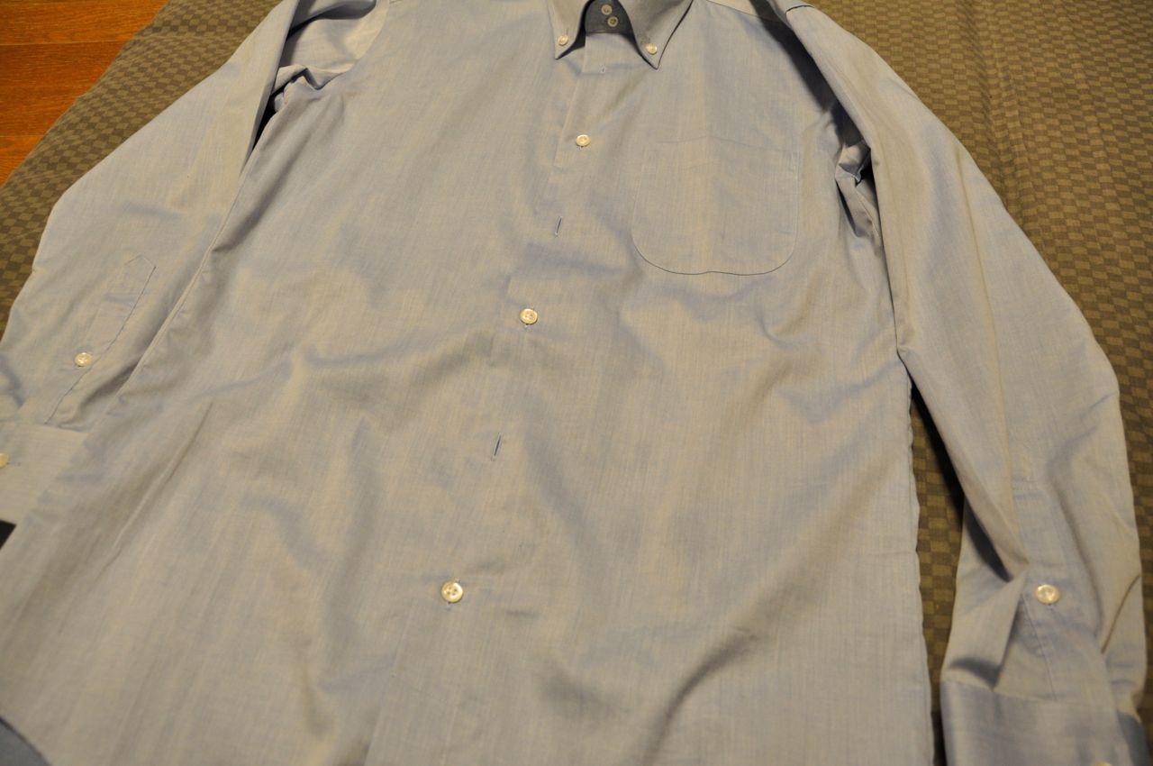 シャツ油汚れ0621