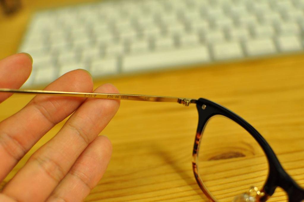 金子眼鏡2