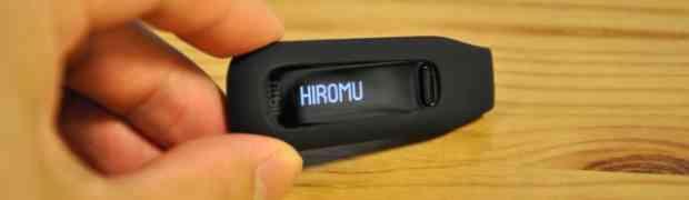 【ダイエット】運動量の確認、記録のために「Fitbit one」を!主張しないその姿がビジネスマンにマッチしとる!!