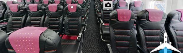 高級感あふれる「JAL SKY NEXT」乗ってみた!! 足下スペース拡大!本革!!かっこいい!!