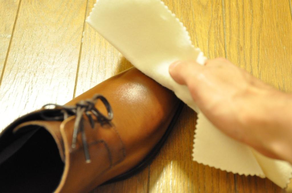 革靴 手入れ5