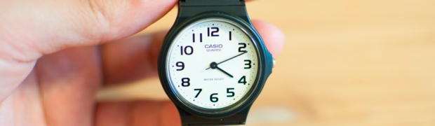 腕時計が苦手な人に1,000円以下で買えるチープカシオをオススメしたい!