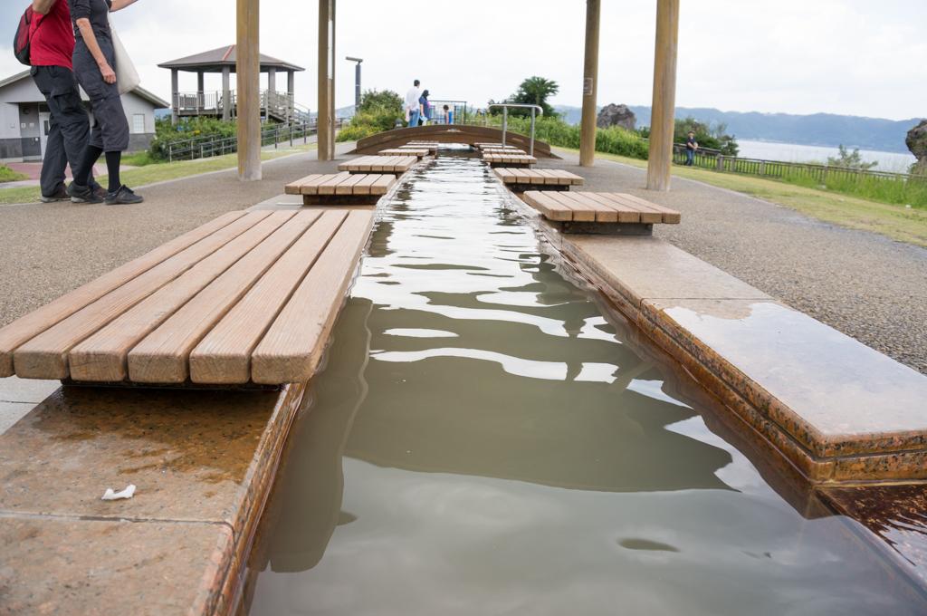 桜島 足湯8