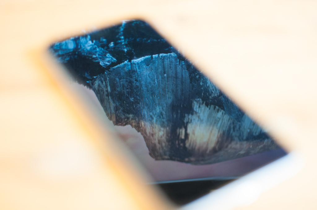 iphoneガラスフィルム張替え15