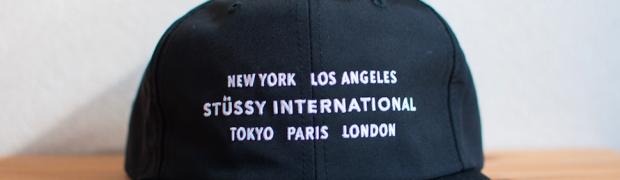 ストリートだけどモード感のあるキャップ「Stussy Intl Cap」を買いました!被り方もご紹介します!!
