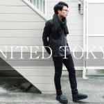 """UNITED TOKYO(ユナイテッドトウキョウ)の""""スーピマテーパードデニム""""を買いました!!コーディネート含めご紹介します!"""
